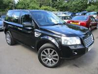 2010 LAND ROVER FREELANDER 2 TD4 HSE AUTOMATIC FULL BLACK LEATHER ESTATE DIESEL
