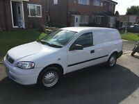 Wauxhallastra Van for sale mint condition.