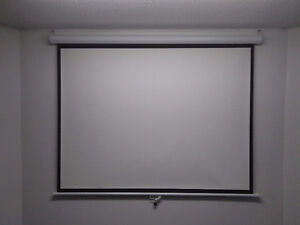 "70"" PROJECTION SCREEN (NEVER USED)"