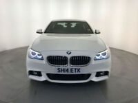 2014 BMW 520D M SPORT DIESEL SALOON 1 OWNER SERVICE HISTORY FINANCE PX WELCOME