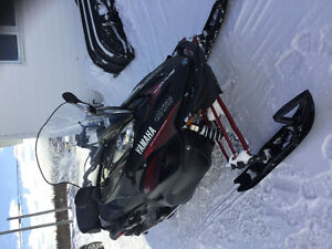 Snowmobile in mint condition