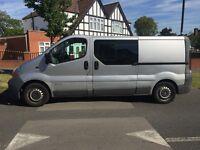 Renault traffic lwb crew van £4500