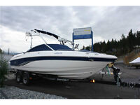 2006 Chaparral 220 SSi, In/Out Board 23' Boat