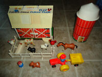 Ferme vintage fisher price #915
