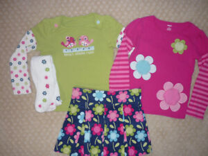 Girl's Gymboree Corduroy Skort Outfit - size 8