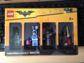 Lego Batman Toysrus Bricktober Minifigures New