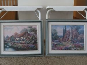 3 Piece Framed Art purchased from Art Gallery Strathcona County Edmonton Area image 2
