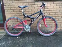 Saracen raw downhill mountain bike