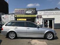 2004 ESTATE BMW 318 2.0 ES TOURING 140 BHP ( AA ) WARRANTY INCLUDED