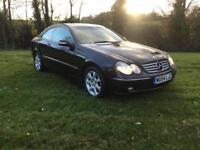 2004 54 Mercedes-Benz CLK240 2.6 V6 Petrol auto Elegance