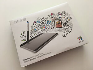 "Wacom Intuos Tablet ""Pen and Touch"" model CTH 480"