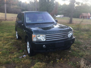 2003 Land Rover Range Rover hse VUS