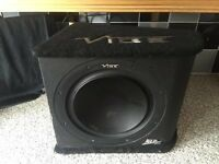 1200w vibe subwoofer & Amplifier - Sub and amp boom box Boombox bass box Speaker sub woofer