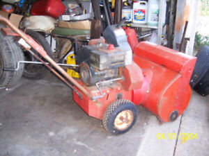 snow blowers (3) for sale as is