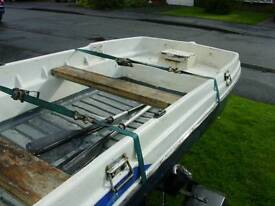 10ft open cathedral Hull fishing dory