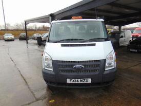 2014 Ford Transit 2.2TDCi ( 125PS ) ( EU5 ) ( RWD ) 350EF 350 EF DRW 14 ft body