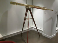 Exceptional Brass Telescope