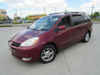 2004 Toyota Sienna  LE, AWD, up to 3 years warranty. Certified