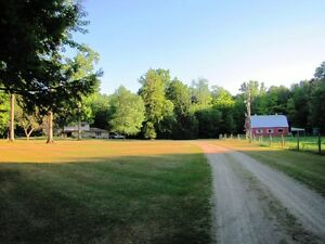 12 ACRE RETREAT With Amazing Barn Man Cave, In-Ground Pool +++