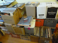 Vinyl LPs - Boxes of Records, Near Mint or Very Good Condition