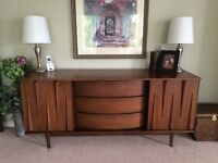 Mid-Century Modern Dresser/Buffet/Sideboard and More!