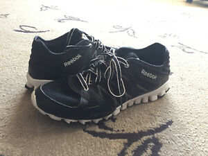 Men's Black Reebok Sneakers