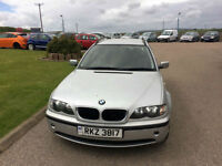 2003 03 BMW 320 2.0TD SE Touring Estate Diesel Silver 5 Door MOT July 2018.