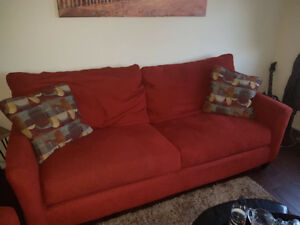 Sofa, Love seat and Armchair