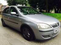 "2004 Vauxhall corsa 1.2. 15"" gsi alloys ( just recently painted) all new tyres. S/s exhaust."