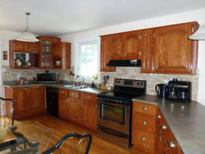Kitchen cabinets doors - natural oak