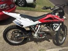 2008 Husqvarna WR125 rego capable 2 stroke MX dirt bike low cut Mount Gravatt Brisbane South East Preview