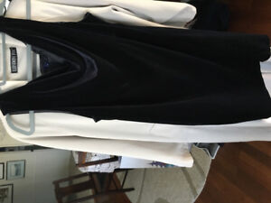 Ladies size 15 black velvet dress