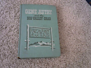 VINTAGE 1946 GENE AUTRY and the BIG VALLEY GRAB