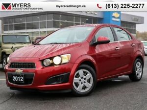2012 Chevrolet Sonic LT  SEDAN, AUTO, A/C, REMOTE START, BLUETOO
