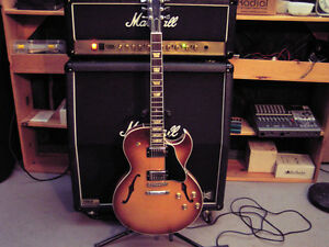 2007 Gibson es137  Classic, semi-hollow body electric guitar.