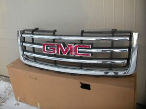 New grille for 2012 GMC half ton  SLT