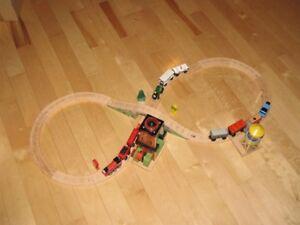 Train Thomas en bois