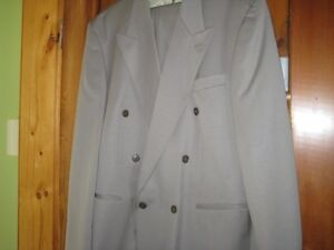 2 MENS DRESS SUITS
