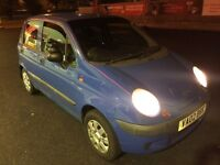 Daewoo Matiz 800CC 5 door 64k low mileage