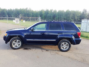 2006 Jeep Grand Cherokee Limited Low KM 10500$ OBO