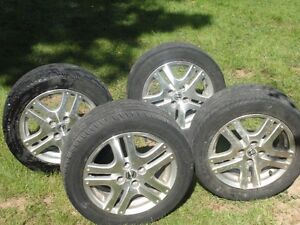 Honda Civic Aluminum wheels/tires