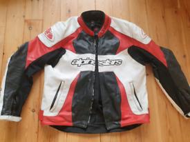 Alpinestars gp plus leather jacket
