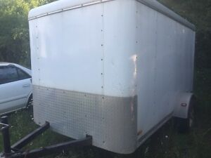 6'x10' enclosed trailer.