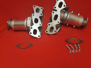 FIT Kia Amanti 3.8L V6 Front P/Side+Div​er Manifold Catalytic