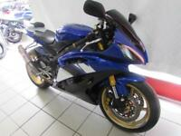 YAMAHA YZF-R6, 08 REG FITTED WITH RACEFIT EXHAUST, TAIL TIDY, SEAT COWL...