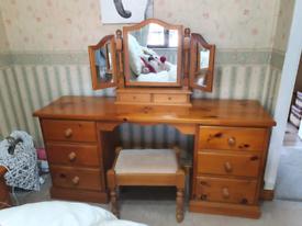 3 set Solid Wood furniture