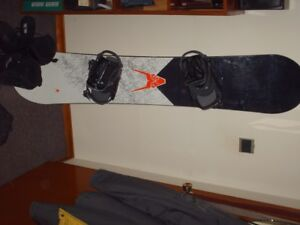 Firefly snowboard, boots, pants and jacket