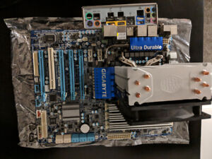 PC Parts - Gigabyte UD3R Motherboard, i7-930 CPU, 12GB DDR3 RAM
