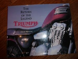 TRIUMPH MOTORCYCLE BOOKS - INDIVIDUALLY PRICED