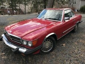 Mercedes Benz 1989 560SL